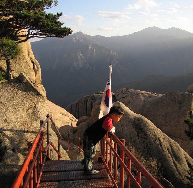 High up in Seoraksan_haverinen